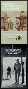 """Movie Posters:Western, Big Jake & Other Lot (National General, 1971). Very Fine+. Uncut Pressbooks (Multiple Pages, 8.5"""" X 14""""). Western.. ... (Total: 2 Items)"""
