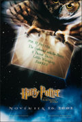 """Movie Posters:Fantasy, Harry Potter and the Sorcerer's Stone (Warner Bros., 2001). Rolled, Very Fine/Near Mint. One Sheet (27"""" X 40"""") DS Advance. F..."""