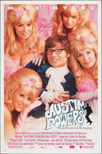 """Austin Powers: International Man of Mystery (New Line, 1997). Rolled, Very Fine-. One Sheets (2) (27"""" X 41"""") S..."""