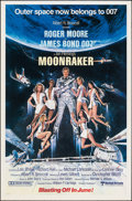 "Movie Posters:James Bond, Moonraker (United Artists, 1979). Rolled, Very Fine. One Sheet (27"" X 41"") Advance, Dan Goozee Artwork. James Bond.. ..."