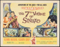 """Movie Posters:Fantasy, The 7th Voyage of Sinbad (Columbia, 1958). Folded, Very Fine-. Half Sheet (22"""" X 28"""") Style A. Fantasy.. ..."""