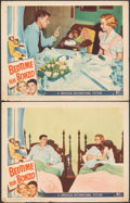 "Movie Posters:Comedy, Bedtime for Bonzo (Universal International, 1951). Fine. Lobby Cards (2) (11"" X 14""). Comedy.. ... (Total: 2 Items)"