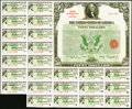 Miscellaneous:Other, Treasury Bond 1944-46 3 1/4% Apr. 16, 1934 $50 Very Fine-Extremely Fine.. ...