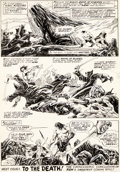 Original Comic Art, John Buscema and Alfredo Alcala Savage Sword of Conan #18 Planche 38 (Marvel, 1981)....