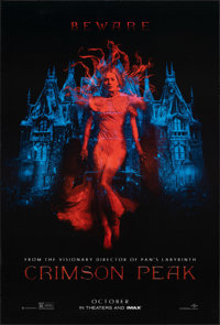 "Crimson Peak & Other Lot (Universal, 2015). Rolled, Overall: Very Fine-. One Sheets (2) (27"" X 40"") DS Adv..."