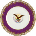 Political:Presidential Relics, [Abraham Lincoln/Ulysses S. Grant]: Official White House China....