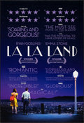 """Movie Posters:Musical, La La Land (Lions Gate, 2016). Rolled, Very Fine. One Sheets (2) (27"""" X 40"""") DS Advance, Regular and Review Style. Musical.... (Total: 2 Items)"""
