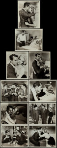 """Movie Posters:Hitchcock, North by Northwest & Other Lot (MGM, 1959). Fine/Very Fine. Photos (10) (8"""" X 10"""") & Mini Lobby Cards (5) (8"""" X 10""""). Hitchc... (Total: 15 Items)"""