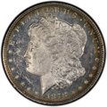 Morgan Dollars, 1878 8TF $1 Flake on Ear, VAM-14.7, MS62 Prooflike PCGS. CAC. A Hit List Variety. PCGS Population: (4/6). ..