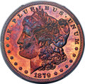 Patterns, 1879 $1 Silver Dollar, Judd-1614, Pollock-1810, Low R.7, PR67 Red and Brown PCGS....