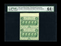 Fractional Currency:First Issue, Fr. 1310a Fr. 1310a Milton 1R50.3d 50¢ First Issue Perf. 14Vertical Pair PMG Choice Uncirculated 64 EPQ....