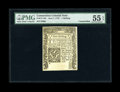 Colonial Notes:Connecticut, Connecticut June 7, 1776 1s PMG About Uncirculated 55 EPQ....