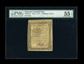 Colonial Notes:Delaware, Delaware May 1, 1777 2s/6d PMG About Uncirculated 55 EPQ....