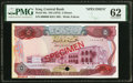 Iraq Central Bank of Iraq 5 Dinars ND (1973) Pick 64s Specimen PMG Uncirculated 62