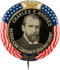 """Political:Pinback Buttons (1896-present), Charles Evans Hughes: """"Republican Candidate"""" Button. ..."""