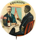 Political:Pinback Buttons (1896-present), Theodore Roosevelt: Full Color Equality Button....