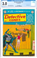 Golden Age (1938-1955):Superhero, Detective Comics #207 (DC, 1954) CGC GD/VG 3.0 Cream to off-white pages....