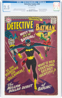 Detective Comics #359 (DC, 1967) CGC GD+ 2.5 Off-white pages