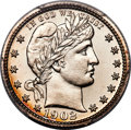 Proof Barber Quarters: , This item is currently being reviewed by our catalogers and photographers. A written description will be available along with high resolution images soon.