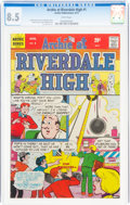 Bronze Age (1970-1979):Humor, Archie at Riverdale High #1 (Archie, 1972) CGC VF+ 8.5 White pages....