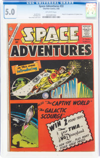 Space Adventures #33 (Charlton, 1960) CGC VG/FN 5.0 Off-white pages