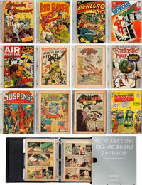 The Q-Collection Comic Book Preservation Project Lot of 700-Plus Items (2001-2019). ... (Total: 73 Items)