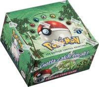 Pokémon First Edition Jungle Set Sealed Booster Box (Wizards of the Coast, 1999)