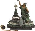 General Historic Events:Expos, Amazing 1876 Centennial Inkwell. ...