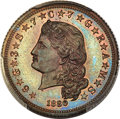 Patterns, 1880 $4 Flowing Hair Four Dollar, Judd-1658, Pollock-1858, High R.6, PR65 Red and Brown PCGS....
