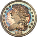Patterns, 1838 P50C Half Dollar, Judd-72, Pollock-75, R.5, PR66 Cameo PCGS. EX: Simpson Collection....