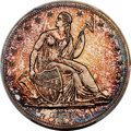 1838 P$1 Name Omitted, Judd-84 Restrike, Pollock-93, R.5 -- Struck Over an 1859 Silver Dollar -- PR64 PCGS. CAC....(PCGS...
