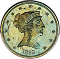 Patterns, 1839 P50C Half Dollar, Judd-98 Restrike, Pollock-108, High R.7, PR65 Brown PCGS....