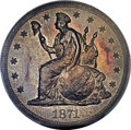 Patterns, 1871 T$1 Commercial Dollar, Judd-1154, Pollock-1298, R.8, PR64 PCGS. CAC....