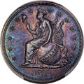 Patterns, 1872 T$1 Commercial Dollar, Judd-1212, Pollock-1352, Low R...