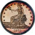 Patterns, 1873 T$1 Trade Dollar, Judd-1323, Pollock-1466, High R.7, PR65 Cameo PCGS....