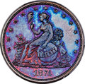 Patterns, 1874 20C Twenty Cents, Judd-1355, Pollock-1499, Low R.6, PR67 Red and Brown PCGS....