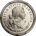 Patterns, 1869 10C Standard Silver Ten Cents, Judd-713, Pollock-792, R.7, PR64+ PCGS....