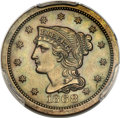Patterns, 1868 10C Ten Cents, Judd-648, Pollock-721, High R.6, PR64 Brown PCGS. CAC....