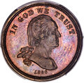 Patterns, 1866 5C Five Cents, Judd-468, Pollock-561, R.8, PR64+ Brown PCGS. CAC....