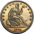 Patterns, 1865 50C Half Dollar, Judd-432, Pollock-505, Low R.7, PR64 Brown PCGS....