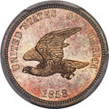 1858 P1C Flying Eagle Cent, Judd-203, Pollock-247, R.5, PR65 PCGS. CAC....(PCGS# 11869)