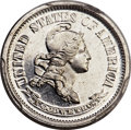 Patterns, 1870 10C Standard Silver Dime, Judd-842, Pollock-934, High...