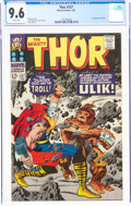 Silver Age (1956-1969):Superhero, Thor #137 (Marvel, 1967) CGC NM+ 9.6 White pages....