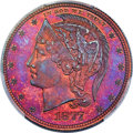 Patterns, 1877 50C Half Dollar, Judd-1531, Pollock-1699, R.7, PR67+ Red and Brown PCGS. ...