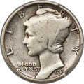 Patterns, 1916 P10C Mercury Dime, Judd-1982 (formerly Judd-1794), Pollock-2040, R.8, PR12 PCGS. CAC....