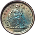 Seated Dimes, 1838 10C Partial Drapery, F-108a, R.4, MS66+ PCGS....