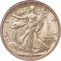 Walking Liberty Half Dollars, 1917-D 50C Obverse MS65 PCGS. Ex: Simpson. An impo...