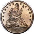 Patterns, 1870 50C Half Dollar, Judd-995, Pollock-1125, R.8, PR65 PC...