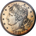 Patterns, 1877 50C Half Dollar, Judd-1524, Pollock-1690, Low R.7, PR64 PCGS. ...