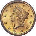 1849-O G$1 Open Wreath MS65+ PCGS. CAC. Variety 1....(PCGS# 7508)